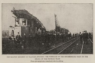 The Railway Accident at Clapham Junction--Giclee Print