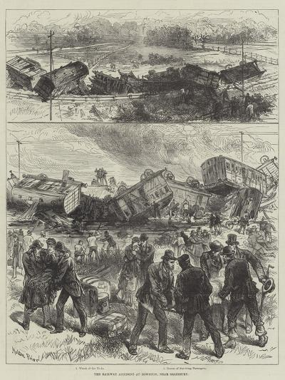 The Railway Accident at Downton, Near Salisbury-Melton Prior-Giclee Print