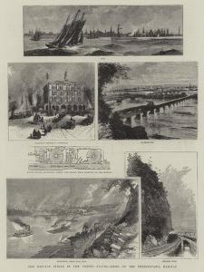 The Railway Strike in the United States, Views on the Pennsylvania Railway