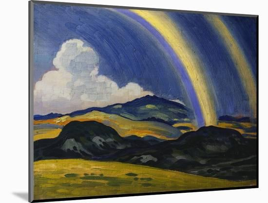 The Rainbow, Wales-Derwent Lees-Mounted Premium Giclee Print
