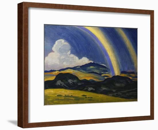 The Rainbow, Wales-Derwent Lees-Framed Giclee Print