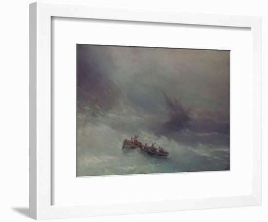 The Rainbow (Wreckage), 1873-Konstantinovich Ivan Aiwassowskij-Framed Giclee Print