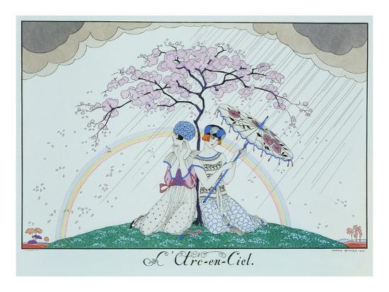 The Rainbow-Georges Barbier-Giclee Print