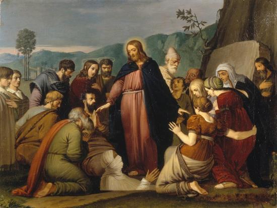 The Raising of Lazarus, 1808-Johann Friedrich Overbeck-Giclee Print