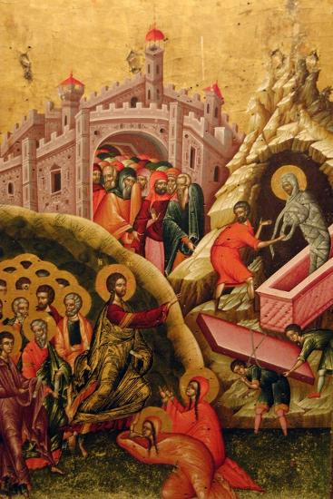 The Raising of Lazarus--Giclee Print