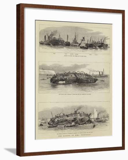 The Raising of the HMS Eurydice-William Edward Atkins-Framed Giclee Print