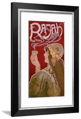 The Rajah--Framed Giclee Print