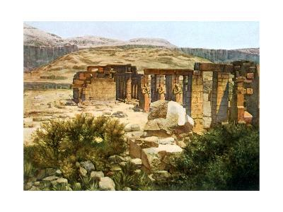 The Ramesseum, Thebes, Egypt, 20th Century--Giclee Print