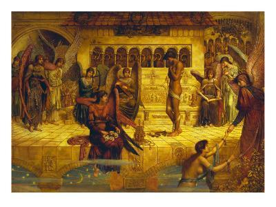 The Ramparts of God's House-John Melhuish Strudwick-Giclee Print