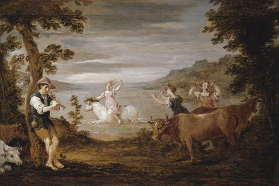 The Rape of Europa, 1654-56-David the Younger Teniers-Giclee Print