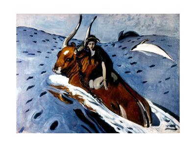 The Rape of Europa, 1910-Valentin Aleksandrovich Serov-Giclee Print