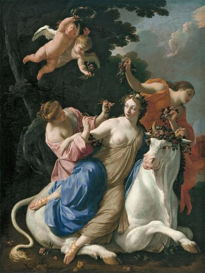 The Rape of Europa, C. 1640-Simon Vouet-Giclee Print