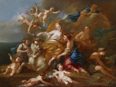 The Rape of Europa-Pierre-Jacques Cazes-Giclee Print