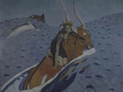The Rape of Europa-Valentin Alexandrovich Serov-Giclee Print