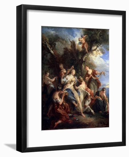 The Rape of Europe, C1725-Francois Lemoyne-Framed Giclee Print