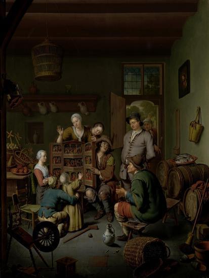 The Raree-show , 1718-Willem Van Mieris-Giclee Print