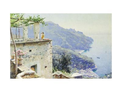 The Ravello Coastline-Peder Mork Monsted-Giclee Print