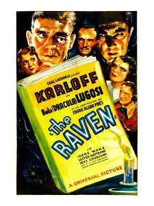 The Raven, Irene Ware, Boris Karloff, Ian Wolfe, Bela Lugosi, Inez Courtney, Lester Matthews, 1935