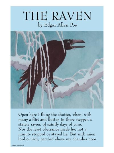 The Raven--Art Print