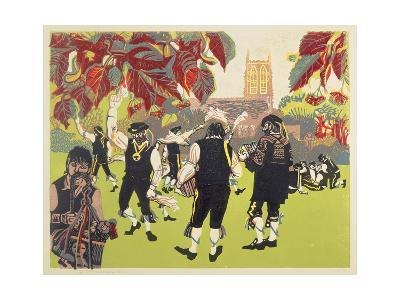 The Ravensbourne Men-Carol Walklin-Giclee Print