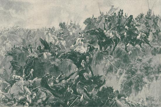 'The Ravine at Waterloo', 1815, (1896)-Unknown-Giclee Print