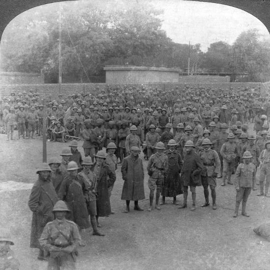 The Rawalpindi Manoeuvres Military Review, India, 1906-Underwood & Underwood-Giclee Print