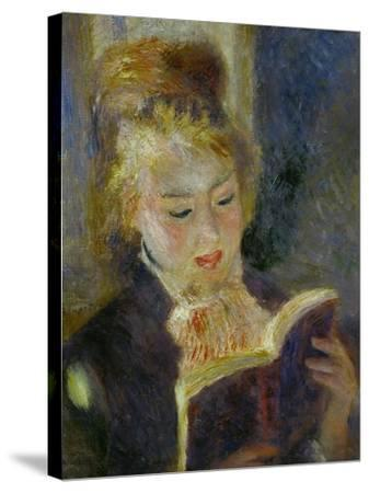 The Reader (La Liseuse), 1874-1876-Pierre-Auguste Renoir-Stretched Canvas Print