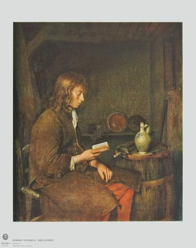 The Reader-Gerard Terborch-Collectable Print