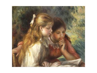 The Reading, c.1890-95-Pierre-Auguste Renoir-Giclee Print