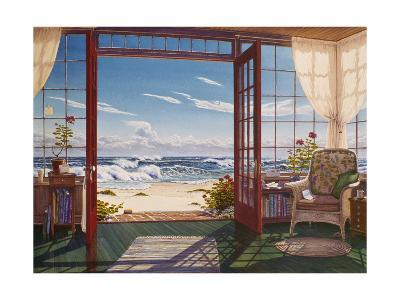 The Reading Porch-Lee Mothes-Giclee Print
