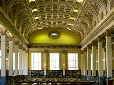 Reading university library printing