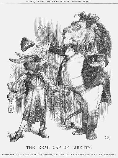 The Real Cap of Liberty, 1871-Joseph Swain-Giclee Print