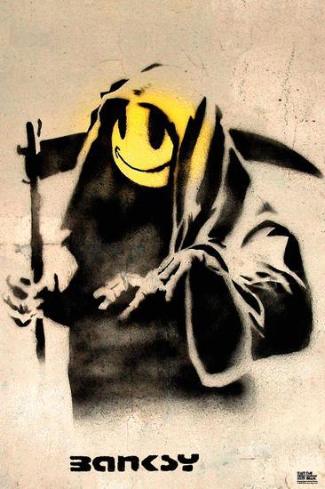 The Reaper-Banksy-Art Print
