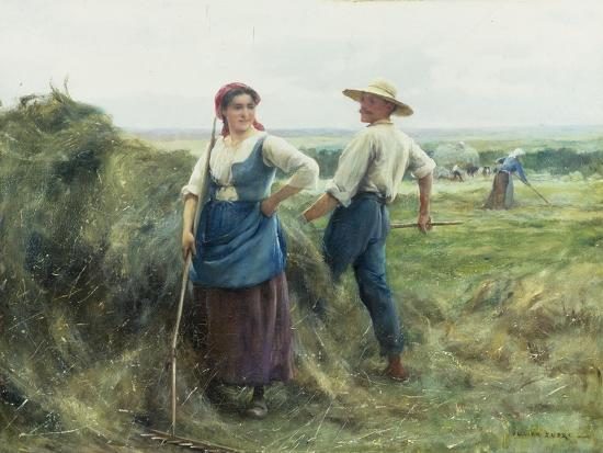 The Reapers-Julien Dupre-Giclee Print