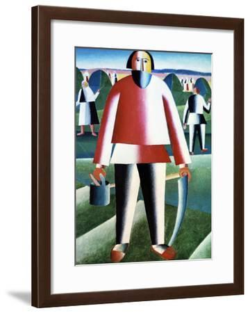 The Reapers-Kasimir Malevich-Framed Giclee Print