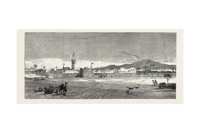 The Rebellion in the Soudan (Sudan): Berber from the Desert or East Side--Giclee Print