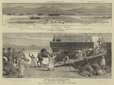 The Rebellion in the Soudan--Giclee Print