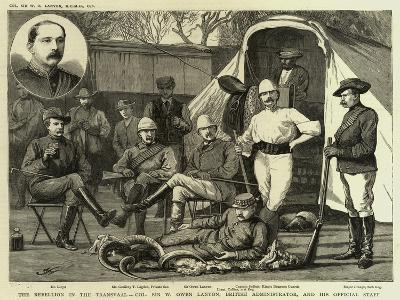 The Rebellion in the Transvaal--Giclee Print