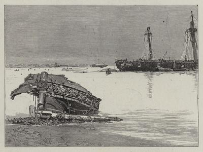 The Recent Hurricane at Samoa--Giclee Print
