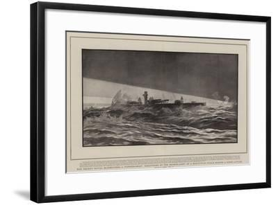 The Recent Naval Manoeuvres-Joseph Nash-Framed Giclee Print