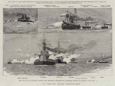 The Recent Naval Manoeuvres--Giclee Print