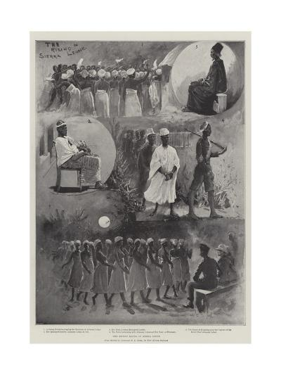 The Recent Rising in Sierra Leone-Henry Charles Seppings Wright-Giclee Print