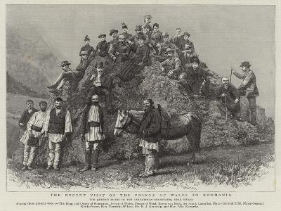 The Recent Visit of the Prince of Wales to Roumania--Giclee Print