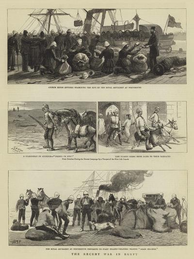 The Recent War in Egypt-Charles Joseph Staniland-Giclee Print