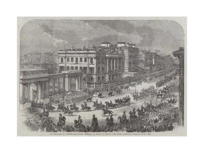 The Reception of Princess Alexandra (Princess of Wales) in London--Giclee Print