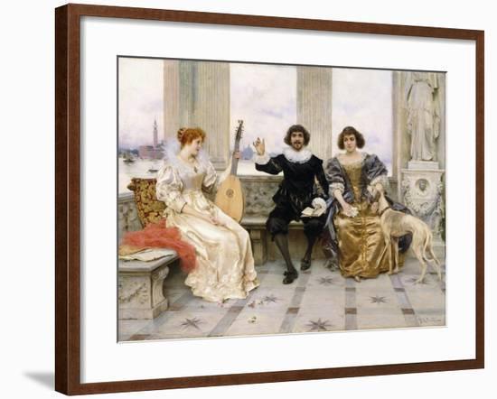 The Recital-Federigo Andreotti-Framed Giclee Print