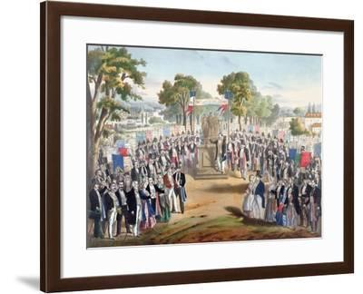 The Reconciliation of the Workers--Framed Giclee Print