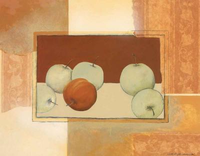 The Red Apple-Heinz Hock-Art Print