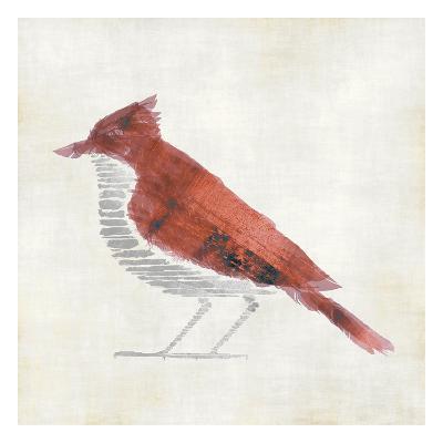 The Red Birdy-Kristin Emery-Art Print