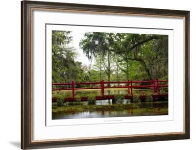 The Red Bridge-Danny Head-Framed Giclee Print